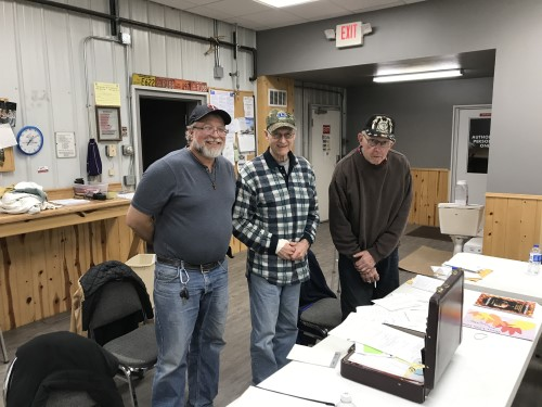 dora township new clerk, supervisor and retiring clerk